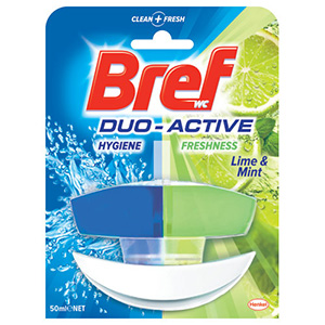 BREF Ароматизатор за WC Лимон и Мента 50мл