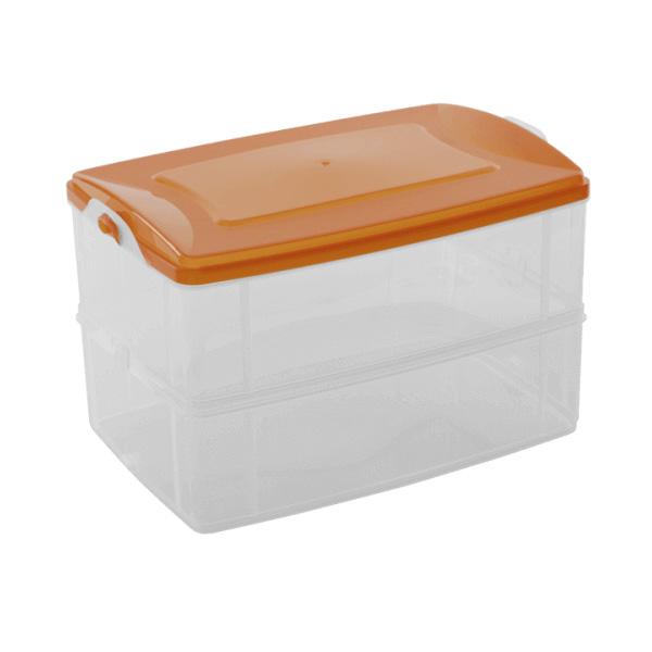 Кутии за Съхранение Фриго за МW и Фризер 2.2л - 2бр с един капак