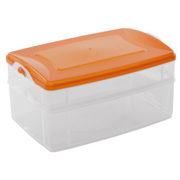 Кутии за Съхранение Фриго за МW и Фризер 2бр (1.2л и 2.2л) с един капак