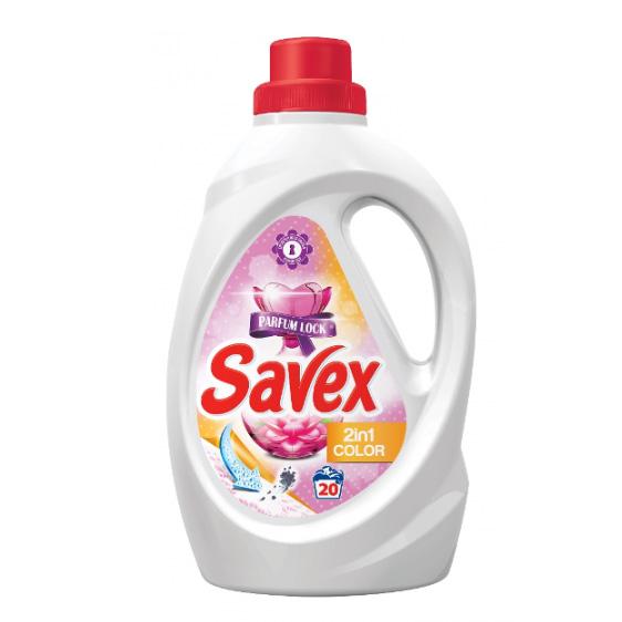 Гел за Пране Savex 2 в 1 Color 1.3л