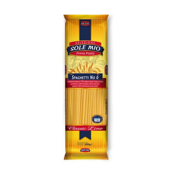 Спагети Sole Mio №6 500 гр