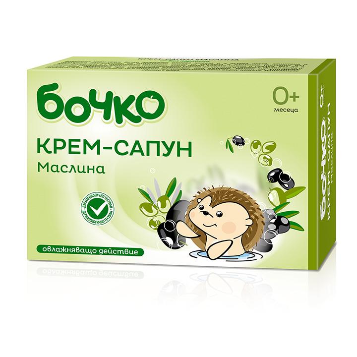 Бочко Крем-сапун Маслина 75гр