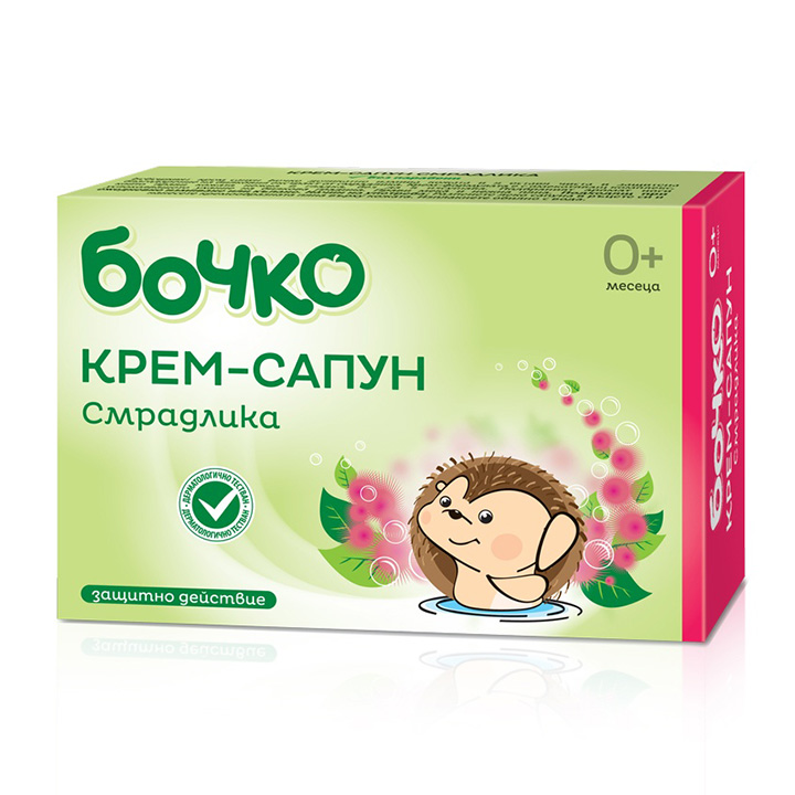 Бочко Крем-сапун Смрадлика 75гр