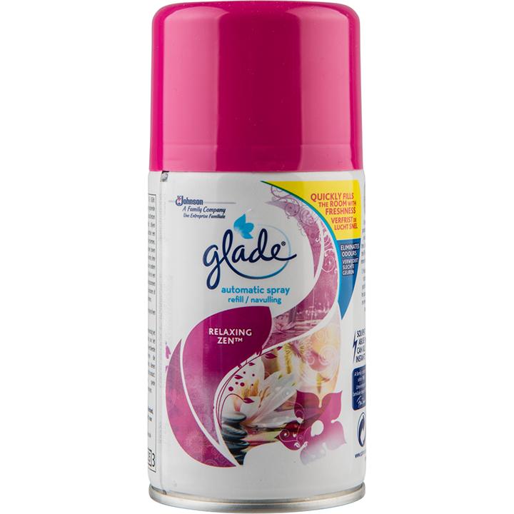 Glade Automatic Спрей Пълнител Relaxing Zen 269 мл