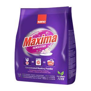Sano Maxima Прах за Пране Sensitive 1.25кг