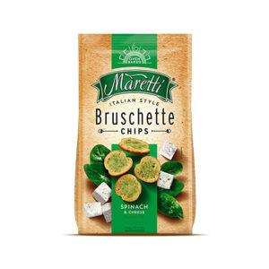 брускети марети със спанак и сирене