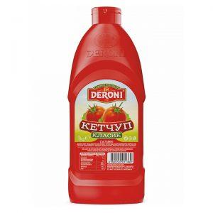 кетчуп дерони класик 1кг