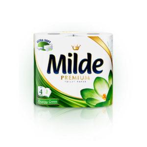 тоалетна хартия зелена 4 бр
