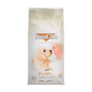 бонацибо суха храна за кученца с пилешко