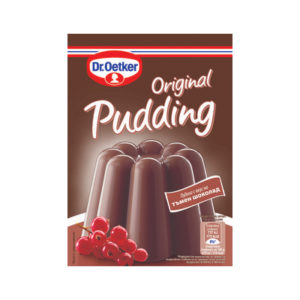 пудинг-тъмен-шоколад
