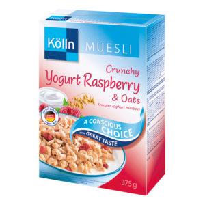 kolln йогурт с малини и овес