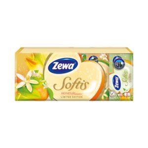 носни кърпички zewa blossom softis