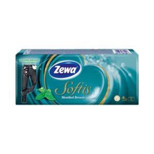 zewa softis ментол носни кърпички
