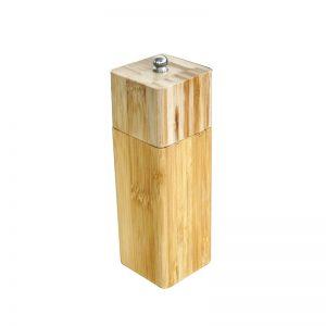 бамбукова мелничка за черен пипер