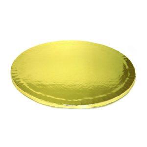 подложка за торта златна