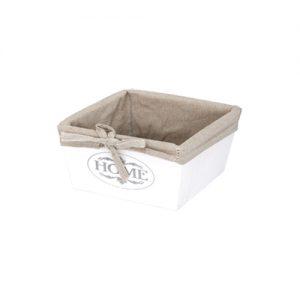 дървена бяла кутия