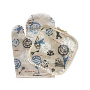 текстилна ръкавица и ръкохватка