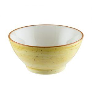 купичка кръгла порцеланова bonna amber 14