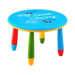 синя детска маса