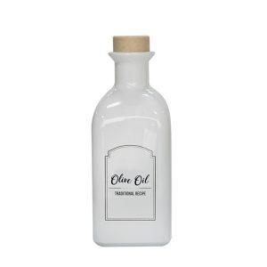 бутилка за зехтин бяла 700 мл